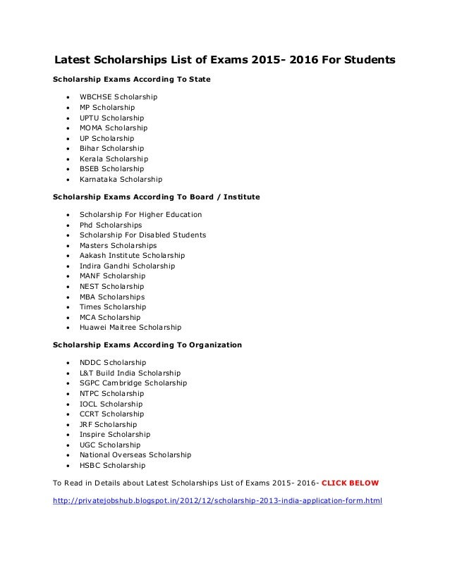 list of essay scholarships 2014 This is a list of no essay scholarships with details on how to apply and background information on the scholarship sources no essay scholarships rule.