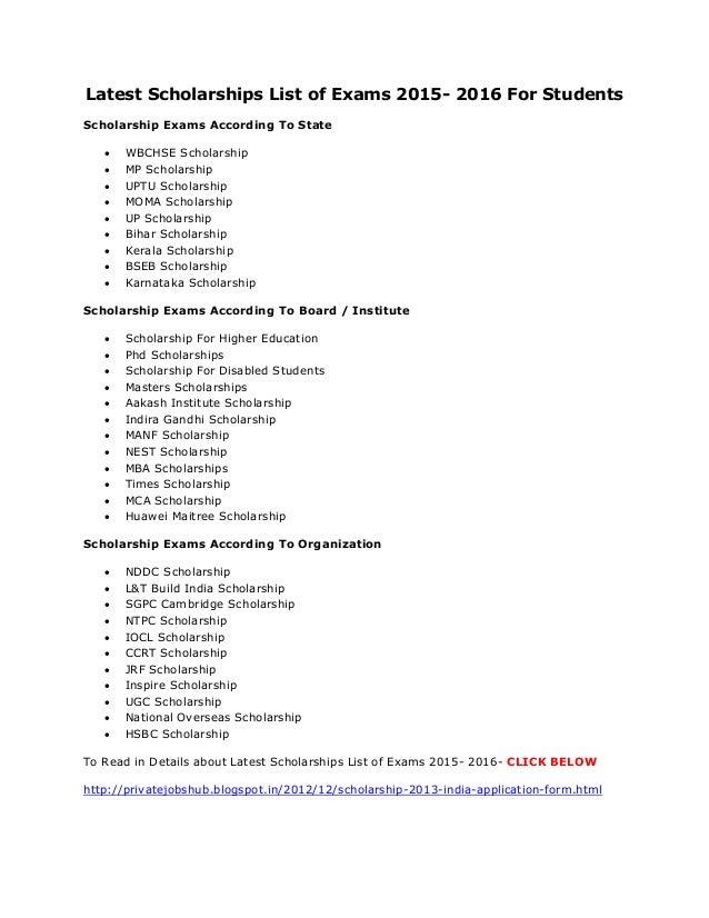 List of essay scholarships 2014 custom paper academic writing service