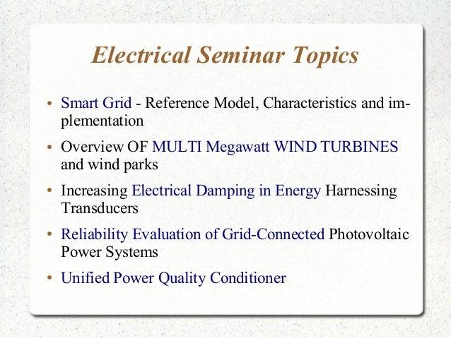 Seminar Topics For Eee Students Pdf