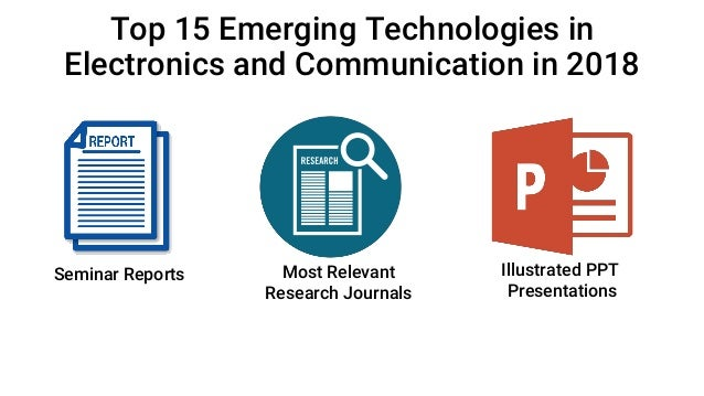 15 Latest Seminar Topics for ECE | Electronic Engineering | 2018