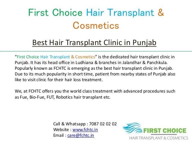 Latest Hair Transplant Surgeries done at First Choice Hair