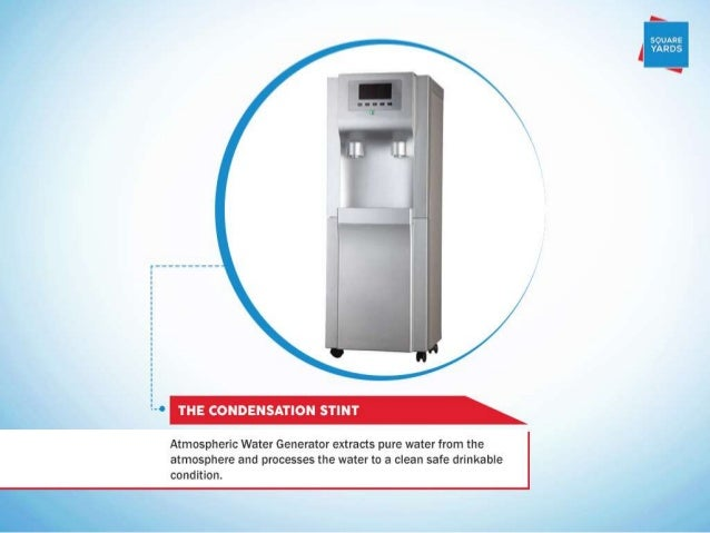 """.. ----------------------. --.   """"9 THE CONDENSATION STINT  Atmospheric Water Generator extracts pure water from the atmos..."""