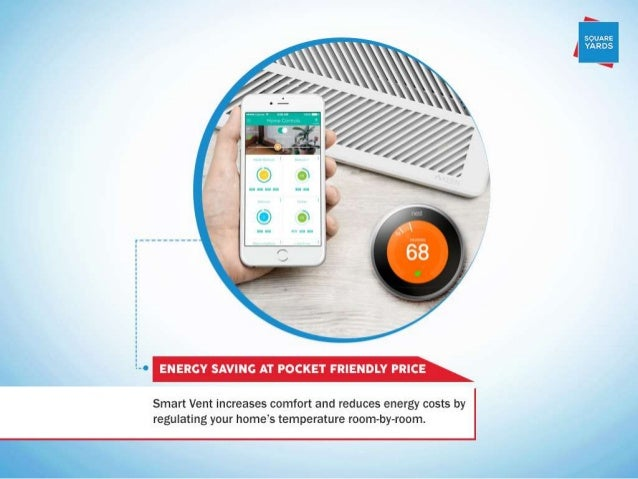 A-0 ENERGY SAVING AT POCKET FRIENDLY PRICE  Smart Vent increases comfort and reduces energy costs by regulating your home'...