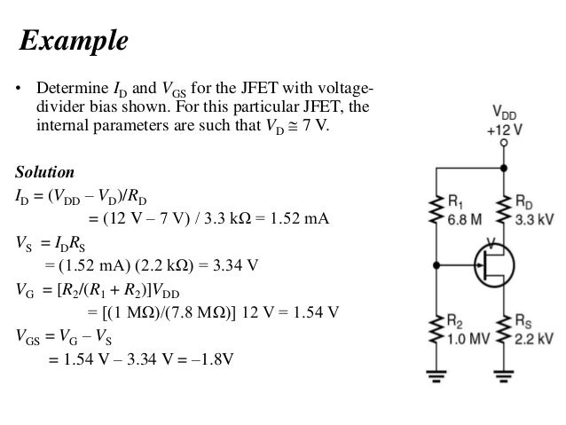 jfet problems and solutions pdf
