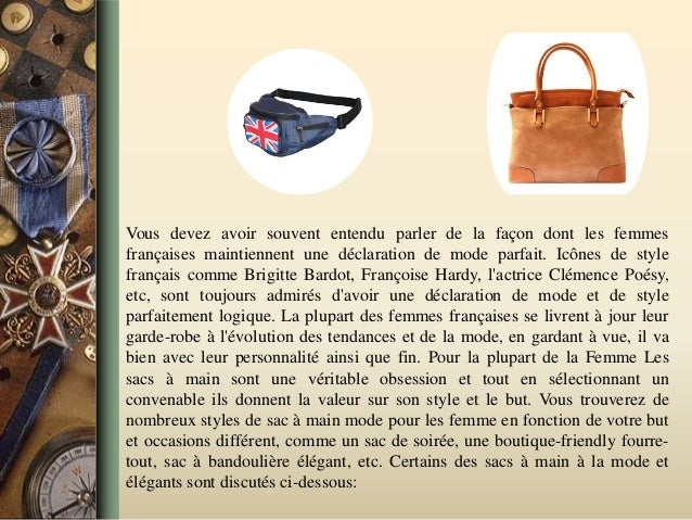 Vous devez avoir souvent entendu parler de la façon dont les femmes françaises maintiennent une déclaration de mode parfai...
