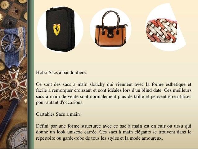 Hobo-Sacs à bandoulière: Ce sont des sacs à main slouchy qui viennent avec la forme esthétique et facile à remorquer crois...