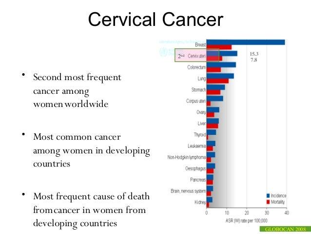 Latest update on cervical cancer & hpv vaccine   2013 Slide 2