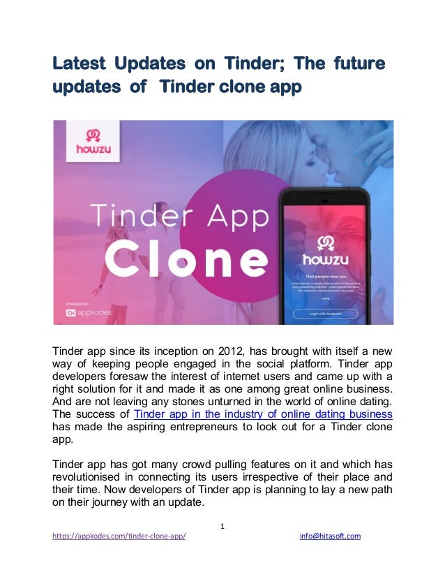 Tinder is Adding More and Soon You Will Get to See That On
