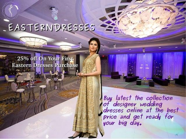 Latest Wedding Bridal Dresses Online Usa Easterndresses