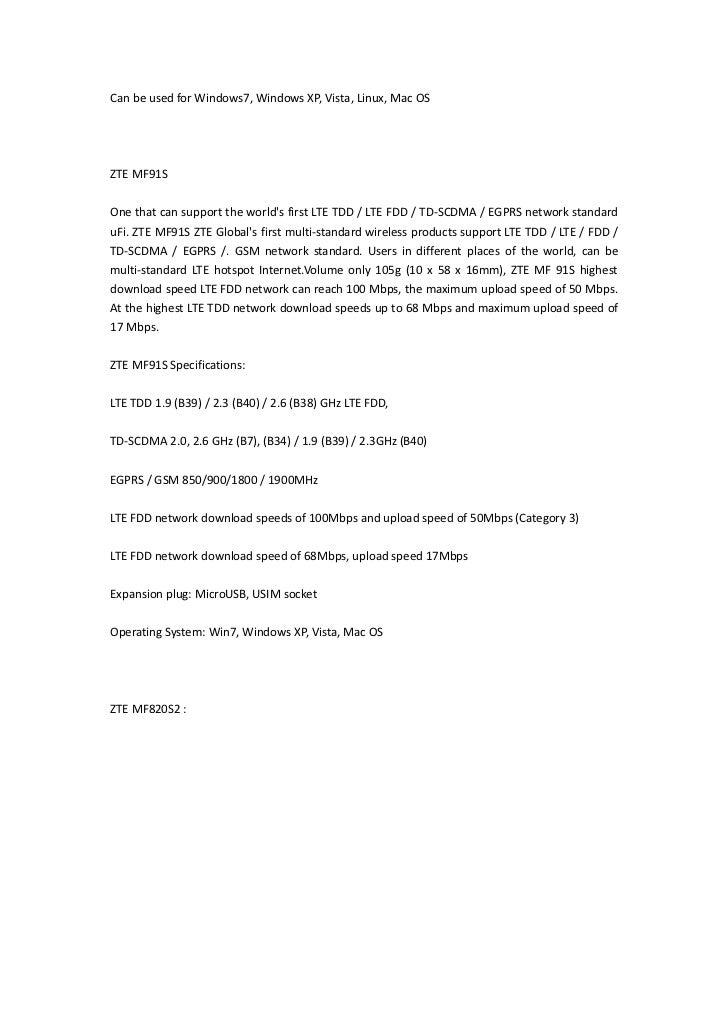 Huawei E392 4G LTE Modem