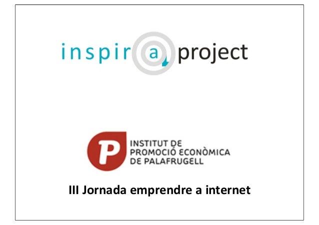 III  Jornada  emprendre  a  internet