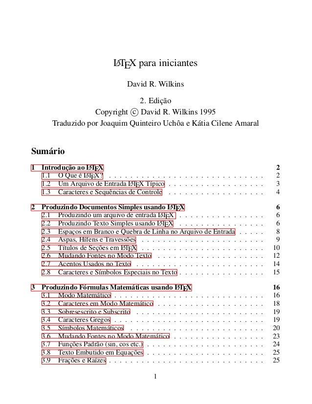 LTEX para iniciantes                           A                                David R. Wilkins                          ...