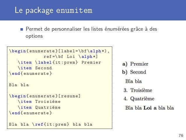 Introduction à LaTeX : le système de composition professionnel