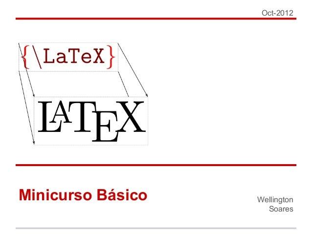 Latex minicurso bsico oct 2012 minicurso bsico wellington soares ccuart Choice Image