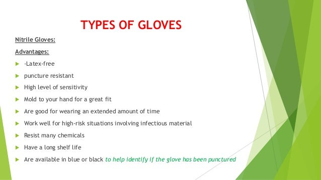Types Of Gloves In Dentistry
