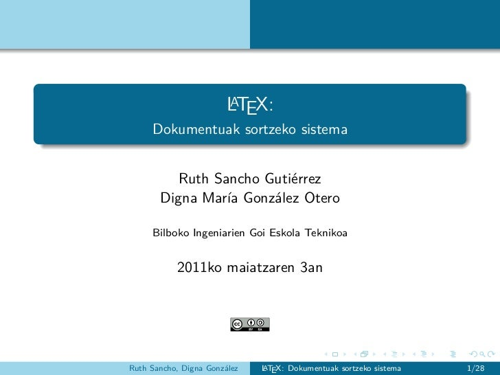 A                        LTEX:     Dokumentuak sortzeko sistema          Ruth Sancho Gutiérrez       Digna María González ...