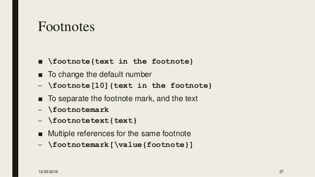 Latex multiple reference