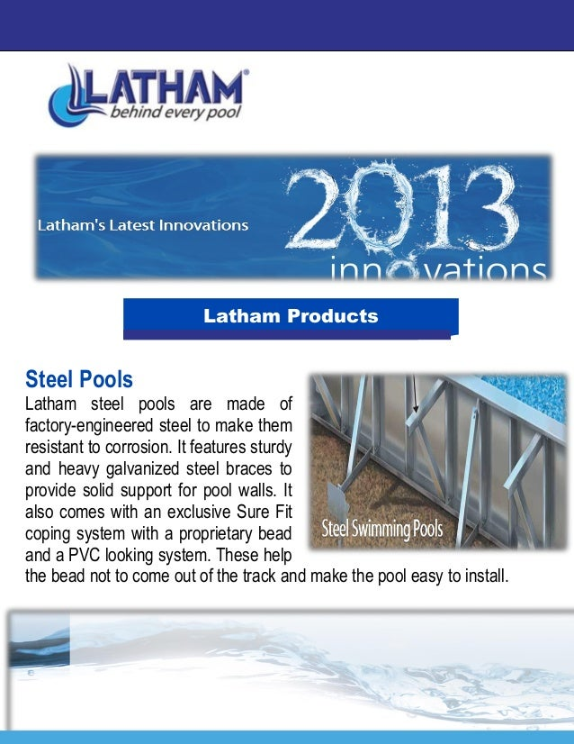Latham Pools Swimming Pools With Quality