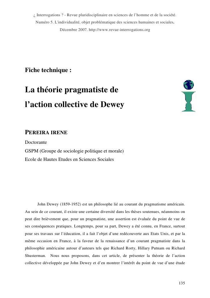¿ Interrogations ? - Revue pluridisciplinaire en sciences de l'homme et de la société.      Numéro 5. Lindividualité, obje...