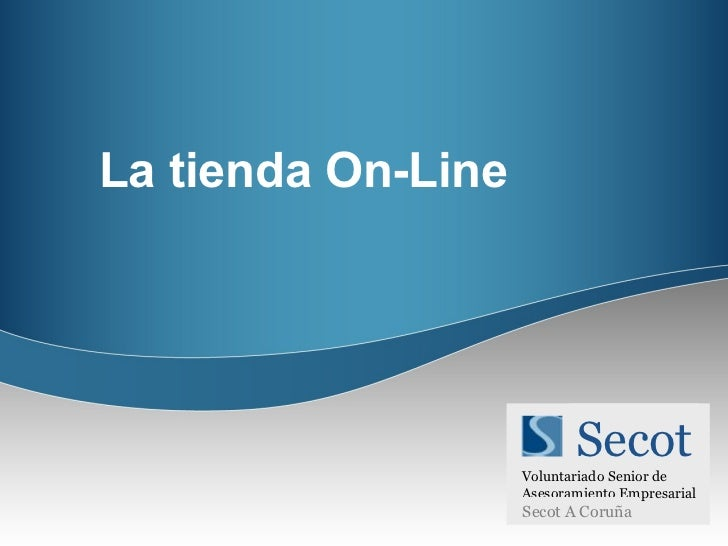 La tienda On-Line Secot Voluntariado Senior de  Asesoramiento Empresarial Secot A Coruña