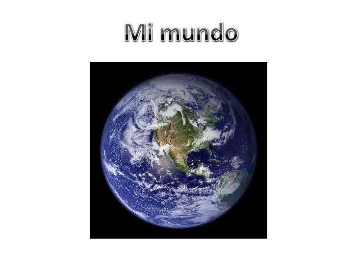 Mi mundo<br />