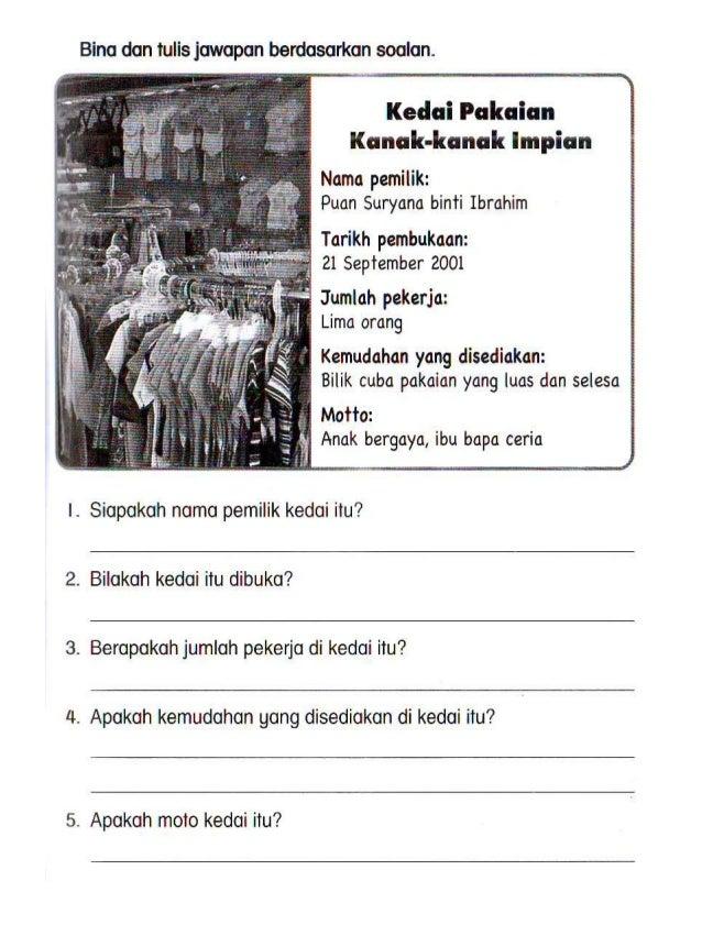 Latihan B.Melayu tahun 3