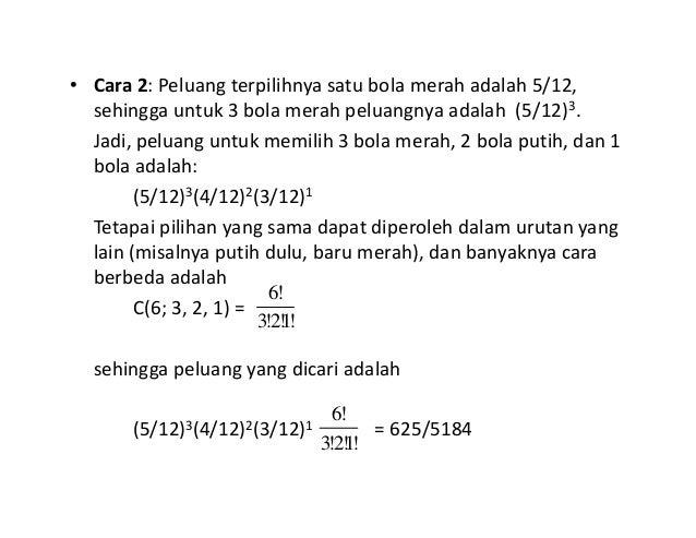 47+ Soal dan pembahasan peluang binomial kelas 12 information