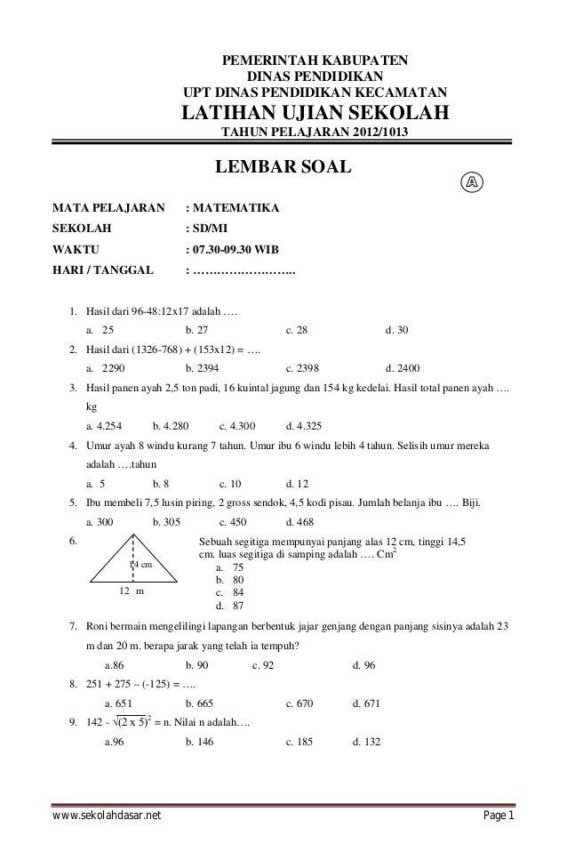 Soal Ujian Nasional Un Sma Beserta Pembahasan Download Lengkap