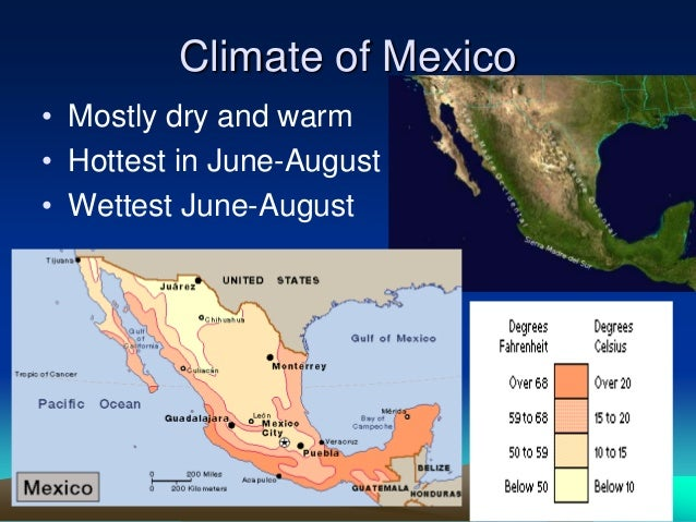 geography climate and the people of mexico Cancún is situated on the northeast coast of mexico's yucatán peninsula in the state of quintana roo its location on the caribbean sea, tropical climate and string of beautiful beaches have made cancún and the riviera maya to the south of cancún mexico's number one tourist destination.