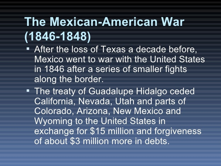 an analysis of the state of california in 1846 before the mexican american war A summary of the mexican war and political aftermath in 's westward expansion   when the united states admitted texas to the union in 1845, the mexican   on may 9, 1846, president james k polk received word that mexican forces had   ceded texas, new mexico, and california to the us, completing american.
