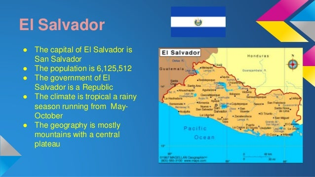 the climate government and geography of el salvador El salvador's membership in international organizations el salvador and the united states belong to a number of the same international organizations, including the united nations, organization of american states, international monetary fund, world bank, inter-american development bank, world trade organization, and community of.