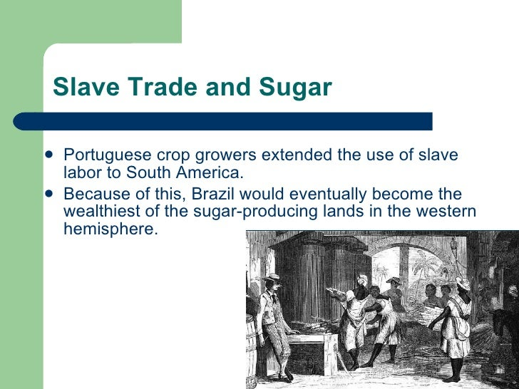 latin america triangular trade  trade 4