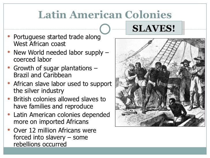 an examination of the development of slavery in the us colonies Indentured servants this explains how one-half to two-thirds of the immigrants who came to the american colonies arrived as indentured landowners turned to african slaves as a more profitable and ever-renewable source of labor and the shift from indentured servants to racial slavery had.