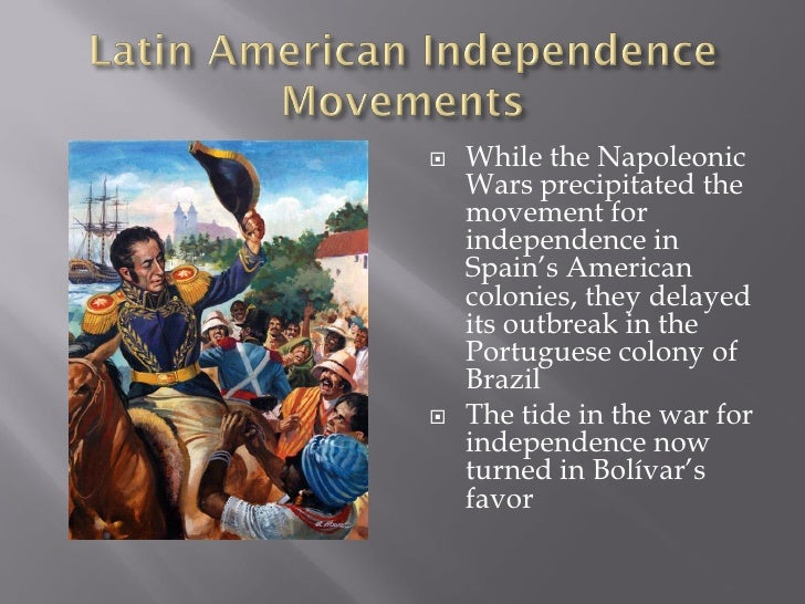 19th century latin america 1 the causes and effects of 19th-century latin american and caribbean independence movements led by people including bolivar, de san martin, and l' - 1563757.