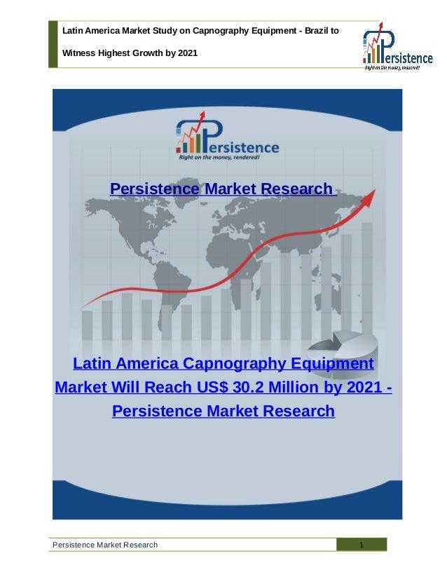 Latin america market study on capnography equipment
