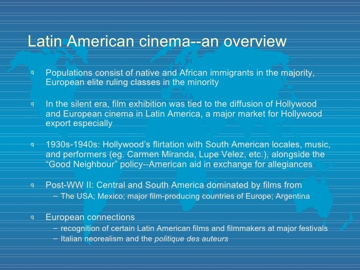 Latin American cinema: Wikis