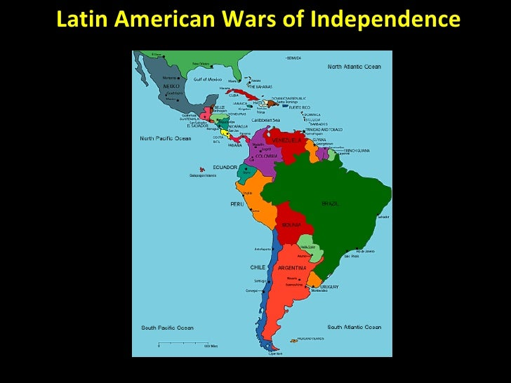 Wars Of Independence Latin America 23