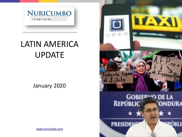LATIN AMERICA UPDATE January 2020 www.nuricumbo.com