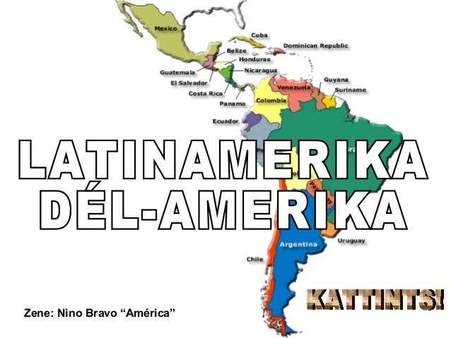 "Zene: Nino Bravo ""América"""