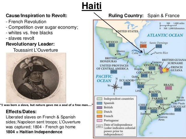 the effects of the hatian revolution Start studying american/haitian revolutions learn vocabulary, terms, and more with flashcards, games, and other study tools  why is the haitian revolution so .