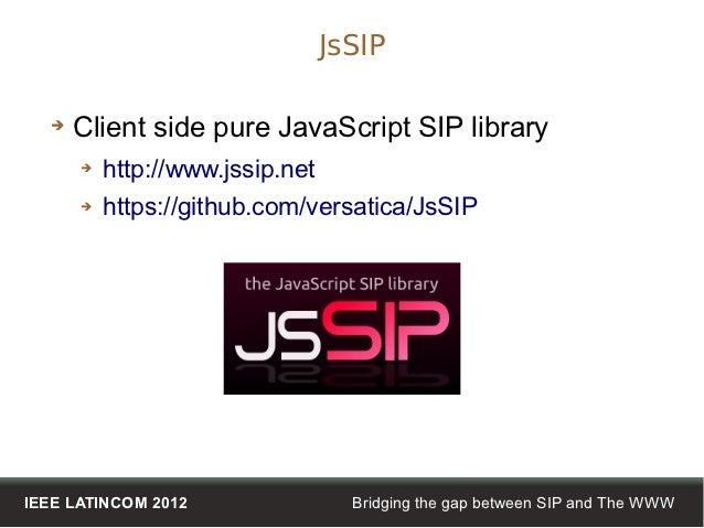 Jssip Example