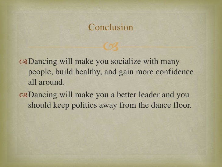conclusion about dance We recorded the fourgone conclusions: contra dance music from western massachusetts (front hall 029) which front hall in their wisdom determined to not format as anything other than an lp the fourgones played for a lot of great dances in petersham and northfield in the late 70s and 80s and occasionally, even.
