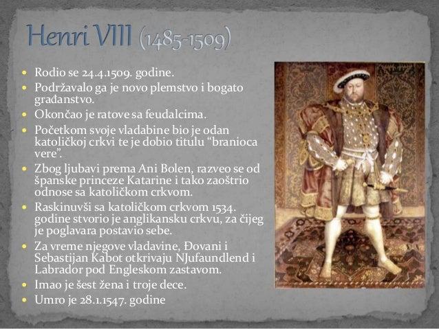  Rodio se 24.4.1509. godine.  Podržavalo ga je novo plemstvo i bogato građanstvo.  Okončao je ratove sa feudalcima.  P...