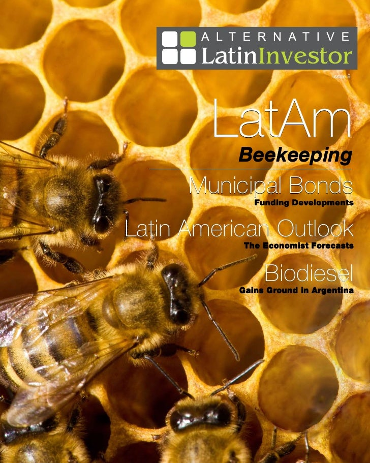 Issue 6        LatAm          Beekeeping      Municipal Bonds              Funding DevelopmentsLatin American Outlook     ...