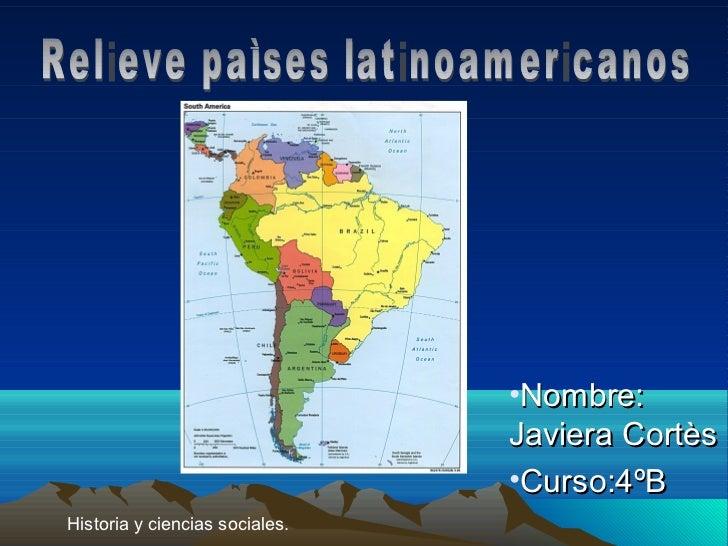 •Nombre:                                Javiera Cortès                                •Curso:4ºBHistoria y ciencias social...
