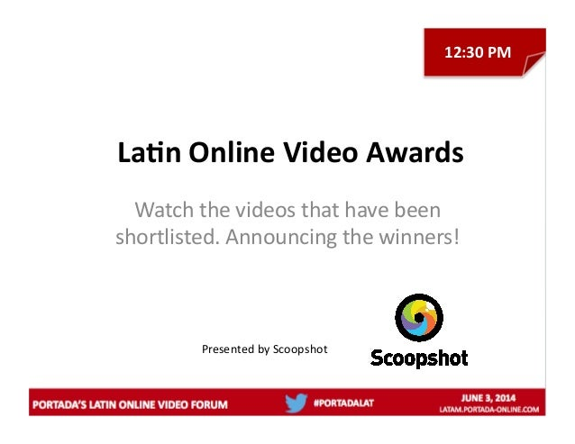 La/n  Online  Video  Awards   Watch  the  videos  that  have  been   shortlisted.  Announcing  the...