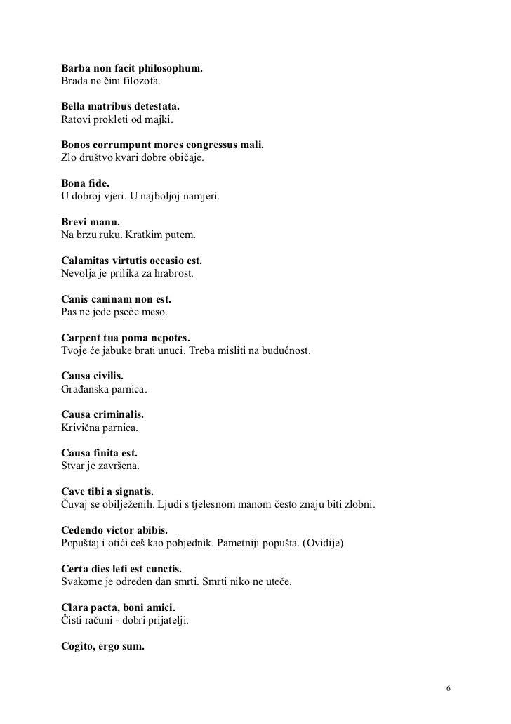 latinske izreke Latinske izreke01 latinske izreke