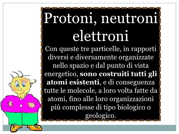 AFFERMAZIONE N°6<br />Gli atomi presentano una struttura modulare<br />e prevedibile<br />