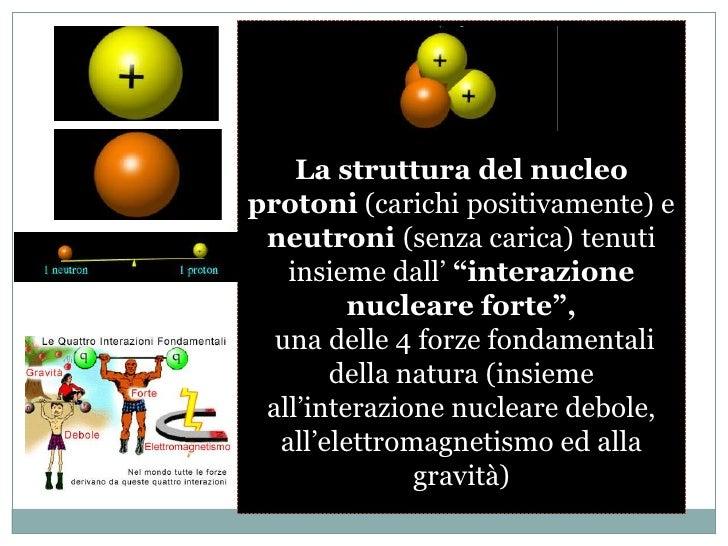 Protoni, neutroni elettroni<br />Con queste tre particelle, in rapporti diversi e diversamente organizzate nello spazio e ...