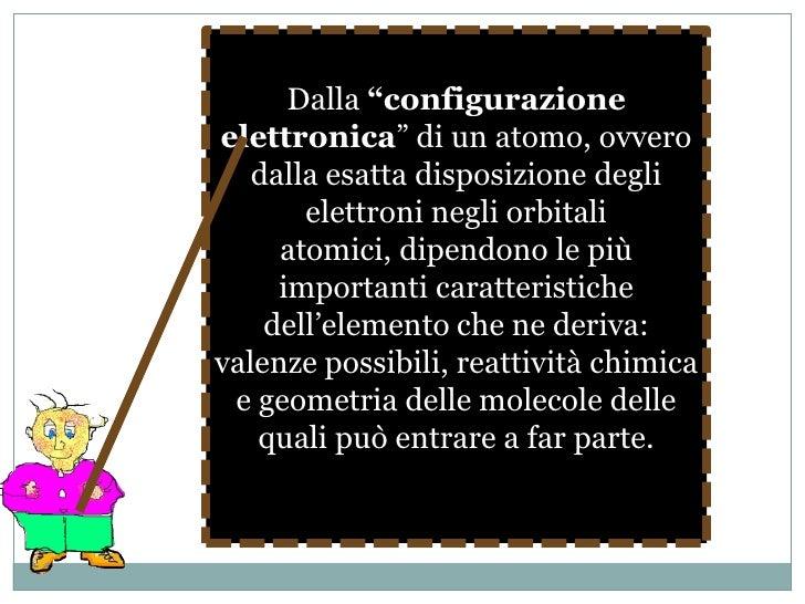 man mano che ci si sposta su orbitali elettronici più esterni, aumenta l'energia associata agli elettroni in essi contenut...